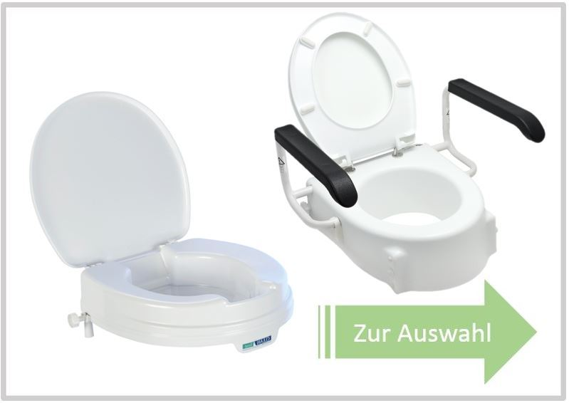 Toilettensitzerhoehungen